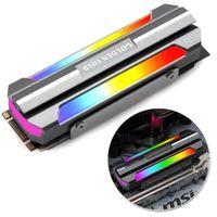 M.2 SSD Kühlkörper Kühler Pad 3pin M.2 2280 Festkörper Festplattenkühler für PC Computers