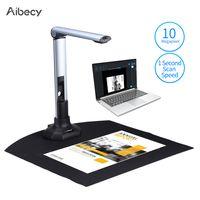 Aibecy BK52 Tragbarer Buch- und Dokumentenkamerascanner Erfassungsgr??e A3 HD 10 Megapixel USB 2.0-Hochgeschwindigkeitsscanner mit LED-Licht fš¹r ID-Karten Passbš¹cher Wasserzeichen Einstellung PDF-Format Export