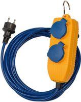 brennenstuhl Verlängerungskabel IP44 mit 4-fach Powerblock Kabellänge: 5 m