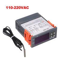 STC-1000 Digitaler Temperaturregler Heizung Kuehlung Celsius Thermostat 2 Relais Ausgang mit Sensor