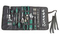Brüder Mannesmann Werkzeuge GmbH 65-tllg.. Werkzeug- Rolltasche
