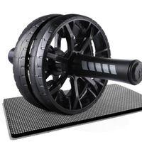 Bauchtrainer Ab Übung Dual Wheel Roller Fitness Magen Bauch Core Trainingsausrüstung