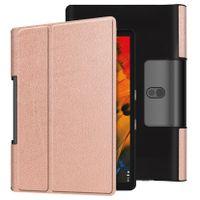 Cover für Lenovo Yoga Smart Tab YT-X705F 10.1 Zoll Tablethülle Schlank mit Standfunktion und Auto Sleep/Wake Funktion Bronze