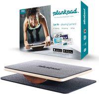 Plankpad pro Ganzkörper-Trainer Balance Board Fitness-Hometrainer bis 180 kg schwarz