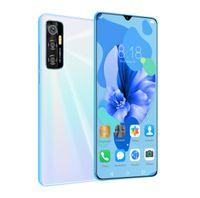 Smartphone, 6,8-Zoll-HD-Großbildschirm, 2G RAM + 32G Dual-SIM-Karte Handy-Weiß