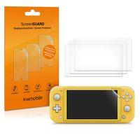 4x Displayfolie kompatibel mit Nintendo Switch Lite