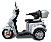 ECO ENGEL 501 Silber mit Li-lo Akku 20 Ah, 25 km/h 1000 Watt Senioren Roller Seniorenmobil Elektromobil