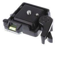1 Stk. Ersatz Schnellverschlussplatte, Einstellbare Zusatz für Kamera Einbein Dreibein Stativ