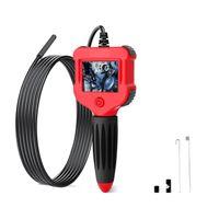 Endoskopkamera Endoskop Kamera 2,4-Zoll-Bildschirm 100cm Inspektionskamera 5,5 mm HD Handheld Endoskop Wasserdichtes Endoskop