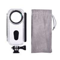Kamera-Unterwassergehäuse Tauch-Hülle Tauchgehäuse für Insta360 ONE X Kamera