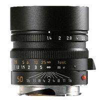 Leica Summilux-M 50 mm f/1.4 ASPH., 8/5, 51.6 mm, 0.7 m, 53.5 mm, 52.5 mm, 335 g