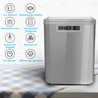 karpal  Ice Cube Machine, Ice Maker with Compressor, 12 kg 24 h, 6 Minutes Production Time, 2 Cube Sizes, 2.2 L, Self-Cleaning Function, 120 W Ice Cube Maker