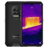 Ulefone Armor 9 Wärmebildkamera IP68 IP69K Wasserdichte 6,3 Zoll 8 GB 128 GB 64 MP Kamera NFC 6600 mAh Helio P90 Octa Core 4G Robustes Smartphone - Schwarze EU-Version