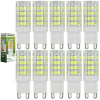 10Pcs MENGS G9 5W=40W LED Mais Birne Energiesparlampe 480LM Kaltweiß