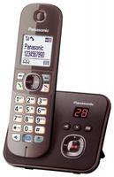 Panasonic KX-TG6821GA Schnurlostelefon mit AB mocca braun