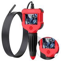 Endoskopkamera Endoskop Kamera 2,4-Zoll-Bildschirm Inspektionskamera 5,5 mm HD Handheld Endoskop Wasserdichtes
