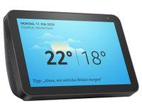 Amazon Echo Show 8 schwarz Smart Home Hub mit Bildschirm