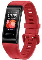 Huawei Band 4 Pro graphite black, Farbe:Zinnober-Rot