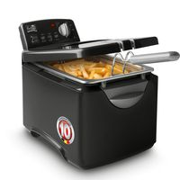 Fritel Turbo SF 4178, Fritteuse, 3 l, Metall, 150 °C, 190 °C, 4 Person(en)