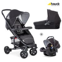 Hauck Malibu 4 Trio Kinderwagen Set, inkl. Babywanne und Babyschale