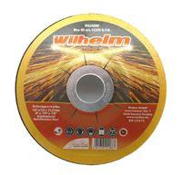 5 x Schruppscheibe Ø 115 von Wilhelm gekröpft Edelstahl Metall Stahl Inox Blech Schleifscheiben für Trennschleifer oder Winkelschleifer