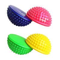 Igelball Massageball Noppenball Halbkugel-Igelball Fußmassage 16x9cm 4er Set
