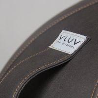 VLUV - VEEL Kunstleder-Sitzball in verschiedenen Ausführungen erhältlich 60-65cm Durchmesser Mokka