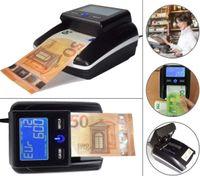 Geldscheinprüfer Währungstester Euro Banknotentester Banknotenprüfer Falschgeldtester mit Zählfunktion und Öffnungsklappe für einfachste Sensorenreinigung