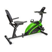 Klarfit Relaxbike 6.0 SE Liege-Ergometer - Cardiobike , Heimtrainer , Schwungmasse: 12 kg , 8-Stufiger Magnetwiderstand , Tablethalterung , PulseControl , SilentBelt Drive , max. 100 kg , schwarz