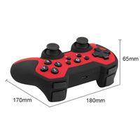 Bluetooth Gamepad Game Controller Kind Erwachsener Geburtstagsgeschenk,Rot
