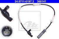 ATE Sensor Raddrehzahl für BMW 3 Touring (E91) 3 Limousine (E90) 3 Coupe (E92)