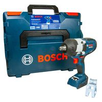 Bosch Professional GDS 18V-1000 Akku-Drehschlagschrauber, 1000 Nm, 1/2' Aufnahme, ohne Akku & Lader, L-BOXX 136