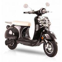 Elektroroller Retro 72 / E-Roller Ginabella Classico 3000 schwarz