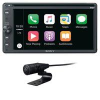 Sony XAV-AX205DB CarPlay Android Auto Digitalradio USB Bluetooth MP3 CD DVD