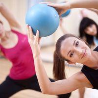 World Fitness by #DoYourFitness Mini Pilates Ball »Balle« Ø 23 cm schwarz