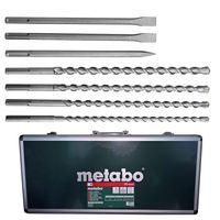 Metabo Bohrer- und Meissel-Set in Alukoffer 7-teilig 623106000 SDS-Max