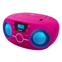 BigBen Interactive CD61_USB Radio-Recorder, MP3-Wiedergabe, USB