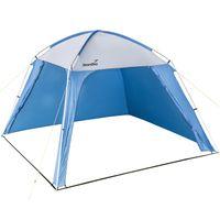 SKANDIKA Pavillon (blau) 300x300x200cm | für Garten und Campingplatz