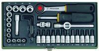 Proxxon Steckschlüsselsatz 1/4' (36-teilig)