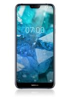 "Nokia 7.1 32GB Hybrid-SIM Gloss Midnight Blue [14,83cm (5,84"") LCD Display, Android 8.1, 12+5MP Dualkamera]"
