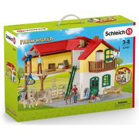 Schleich Bauernhaus mit Stall (42407)
