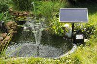 TIP SPS 250/6 Solar-Teichpumpe mit Stromspeicher und LED