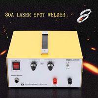 Automatisch Punktschweißgerät Punktschweißer Gold Silber Schmuckpunktschweißgerät Handschweißgerät 80A 220V400W