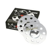 2x Spurverbreiterung Spurplatten 10mm 4x100 / 4x108 NLB 57,1mm