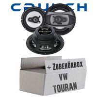 Lautsprecher hinten - Crunch GTi62 - 16,5cm Triaxlautsprecher für VW Touran - justSOUND