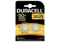 Duracell Lithium Knopfzelle CR 2025 3V 2er Blister