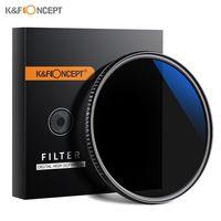 K & F CONCEPT 2-in-1 Ultra Clear 67 mm Neutralfilter ND8 Zirkular polarisierender CPL-Filter fuer DSLR-Kameraobjektiv Wasserdicht kratzfest