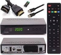 [ Test GUT *] Anadol HD 222 Pro - PVR Aufnahmefunktion, Timeshift, - UNICABLE - Digital HDTV Sat-Receiver für Satelliten-Fernseher - Astra & Hotbird vorinstalliert - HDMI SCART USB DVB-S/S2