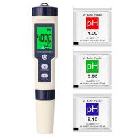5 in 1 Professionelles Multiparameter-Kombitestmessgeraet PH / EC / TDS / Salzgehalt / Thermometer Digitaler Multifunktionstester Wasserqualitaetstester