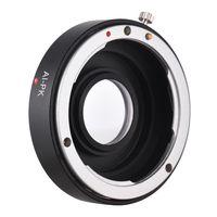 AI-PK Optischer Glasobjektivhalter mit Korrekturlinse fuer Nikon AI F Objektiv passend fuer Pentax K PK K110D K200D K20D K-3501 Kamera
